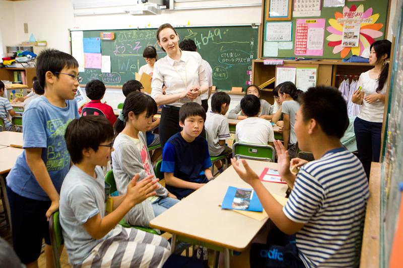 港区と島嶼地区の学校交流